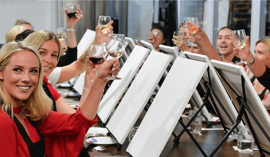 paint-and-sip-class-sydney