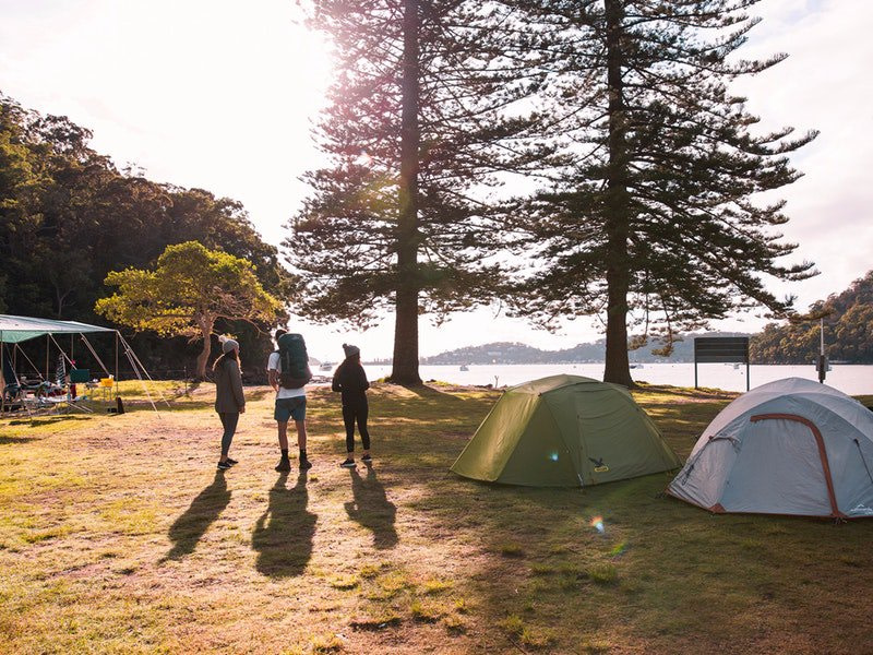 camping-at-the-basin-pittwatter-sydney