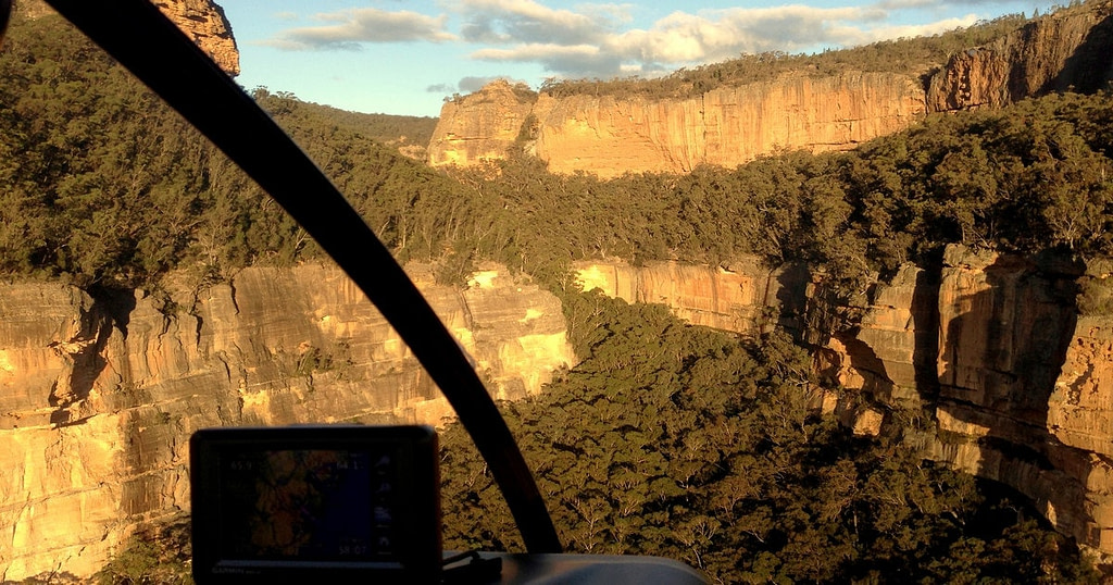 helicopter-tour-blue-mountains