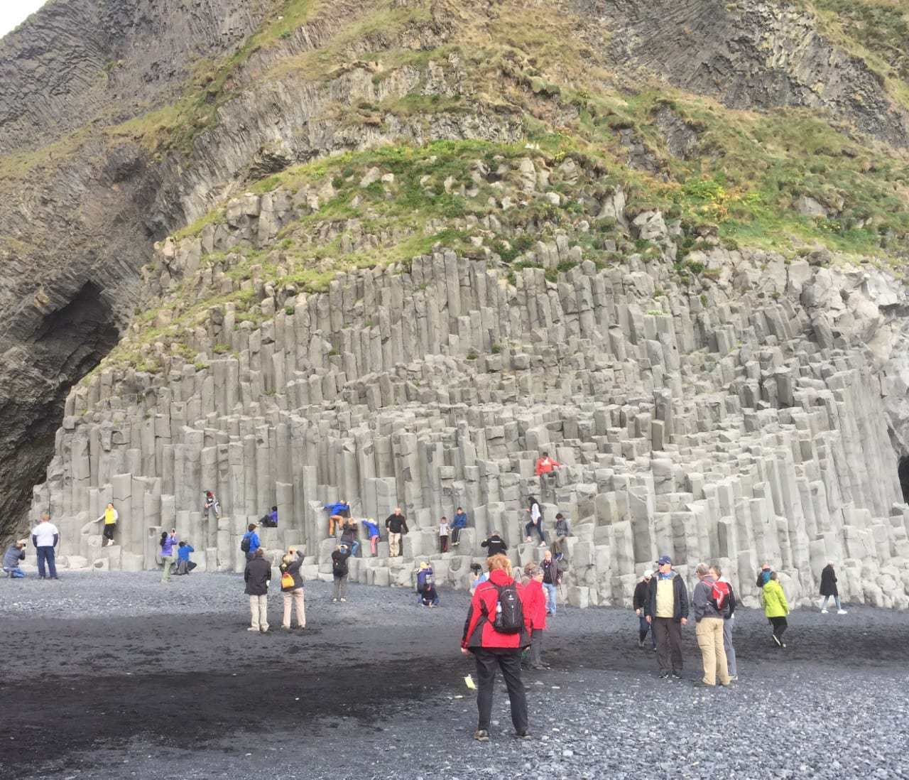 Are there any tourists in iceland