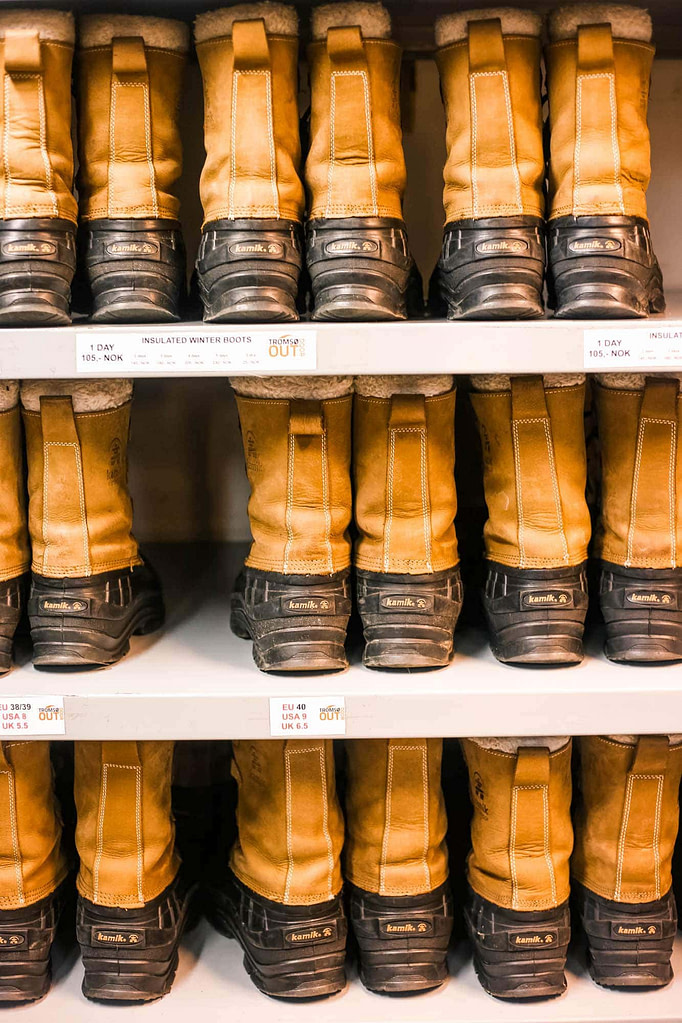 tromso-boots-hire-norway